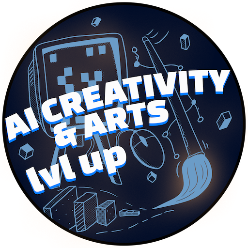 AI Creativity & Arts illustration